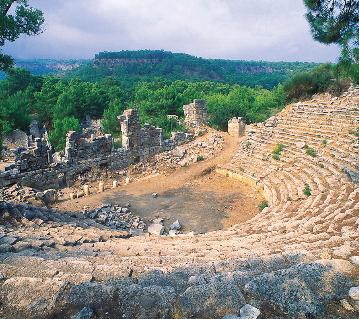 Kemer'in antik kentleri ve Selçuklu Av Köşkü