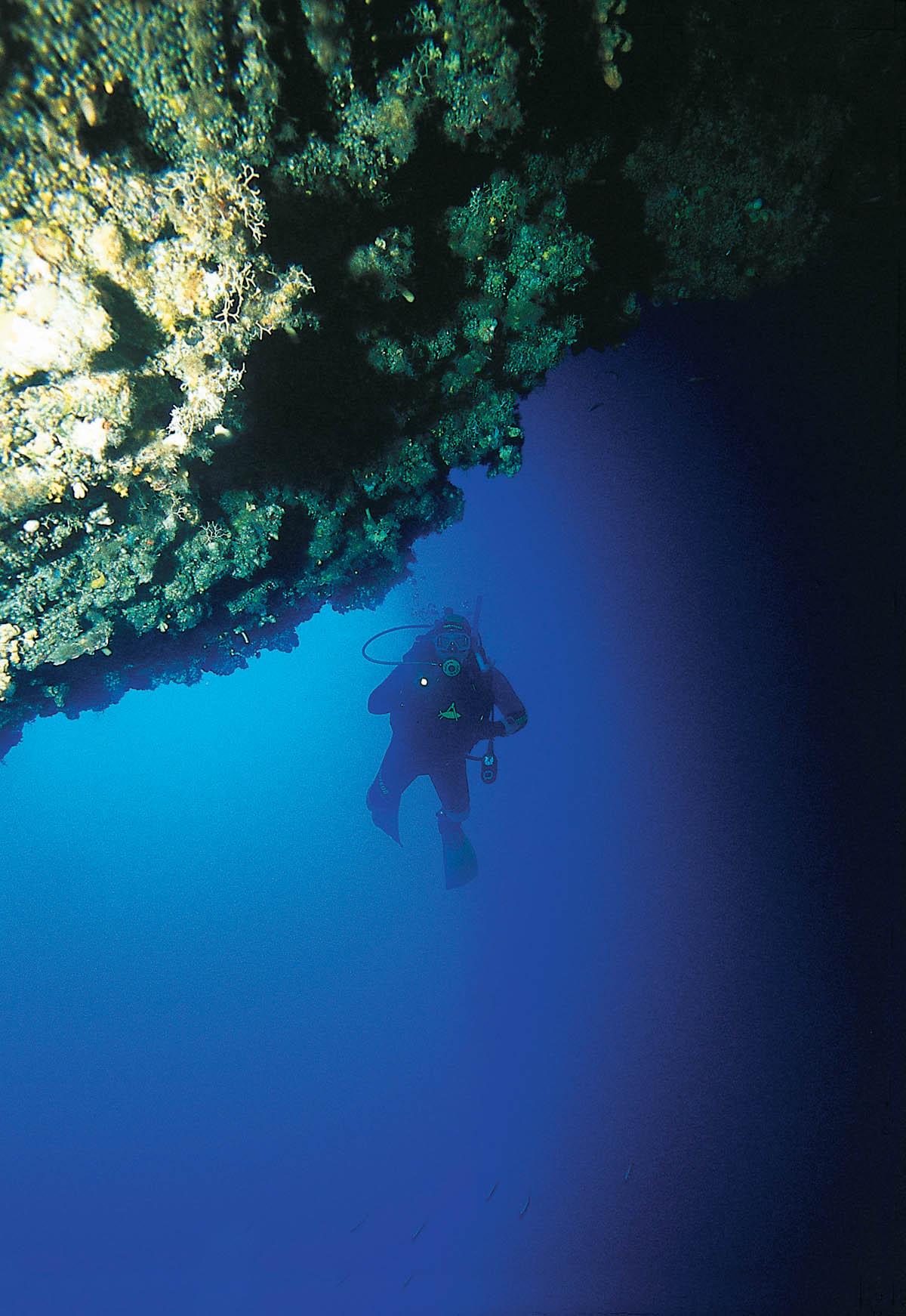 Antalya'nın dalış noktaları
