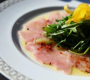 Kılıç Balığı Carpaccio