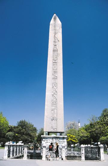 Dikilitaş (Obelisk), İstanbul, Sultanahmet