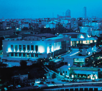 Lütfi Kırdar Kongre ve Sergi Sarayı, İstanbul, Harbiye