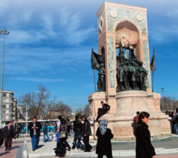 Harbiye, İstanbul, Taksim
