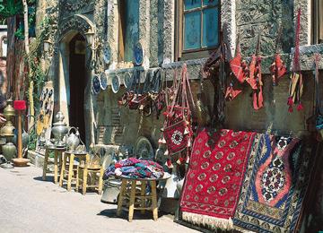 Kaş'ta Alışveriş: Renk Cümbüşü