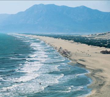 Türkiye'nin en uzun kumsalı: Patara