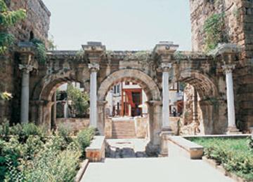 Hadrianus Kale Kapısı