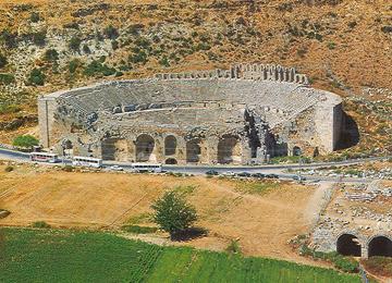 Perge Tiyatrosu, Antalya