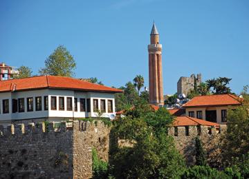 Yivli Minare (Alaeddin Cami), Antalya
