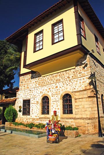 Eski Antalya Evleri