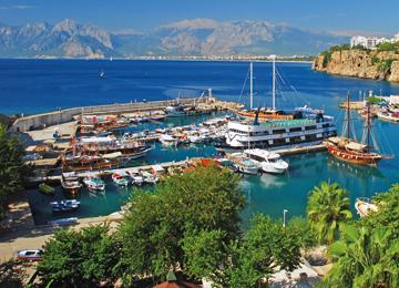 Şehrin Tarihçesi, Antalya