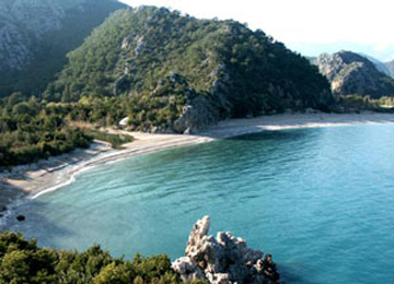 Topçam Plajı, Antalya