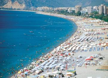 Deniz, Kum, Güneş, Antalya