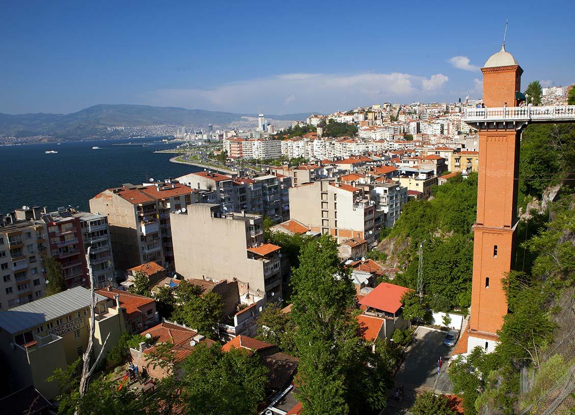 Asansör, İzmir