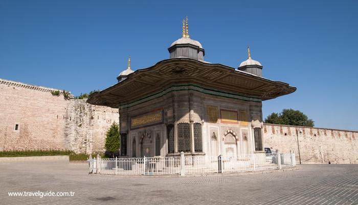 Sultan III. Ahmet Çeşmesi, İstanbul, Sultanahmet
