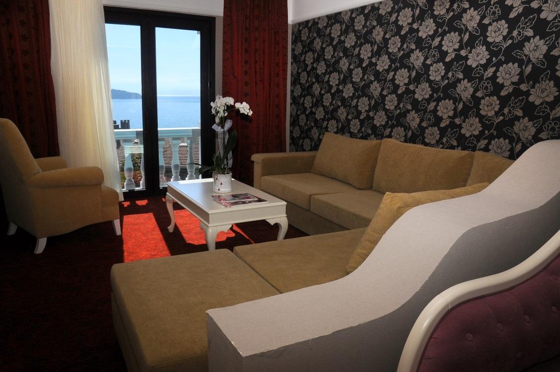 Deluxe çift kişilik oda - Fransız balkonlu